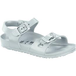 Birkenstock Rio kids eva metallic silver for normal feet