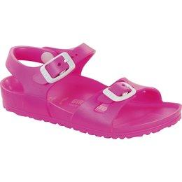 Birkenstock Rio kids eva neon pink for normal feet