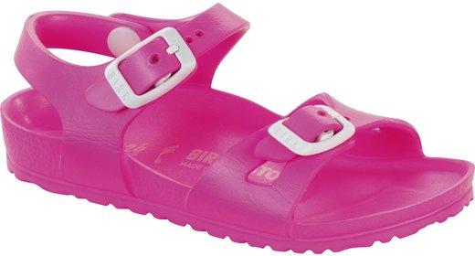 Birkenstock Birkenstock Rio kids EVA neon roze voor normale voet