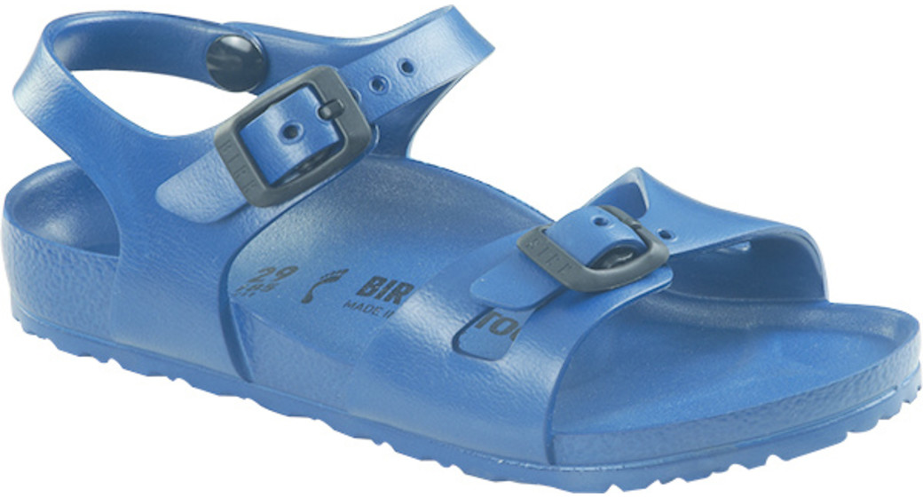 Birkenstock Rio kids eva navy for normal feet