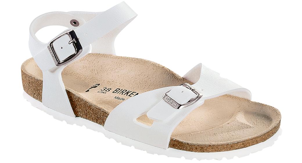 Birkenstock Rio wit voor normale voet