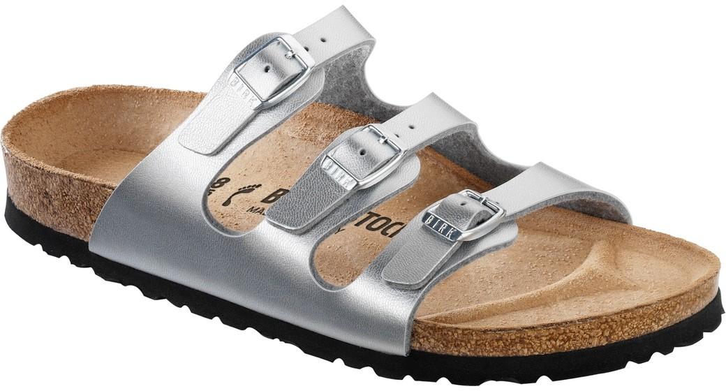 Birkenstock Florida zilver voor normale voet