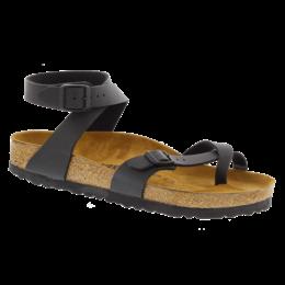 Birkenstock Yara black birko-flor for normal feet