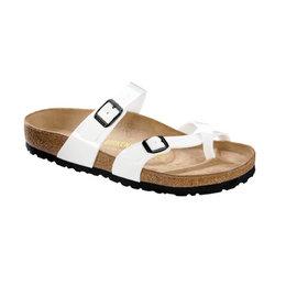 Birkenstock Mayari wit lak voor normale voet