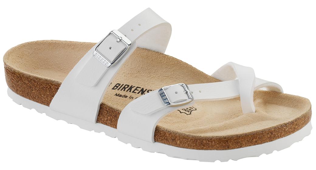 Birkenstock Mayari white for normal feet