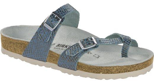 Birkenstock Birkenstock Mayari mermaid aqua soft leather for normal feet