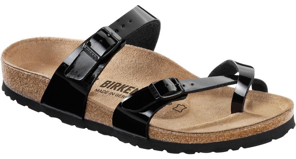 Birkenstock Mayari zwart lak voor normale voet