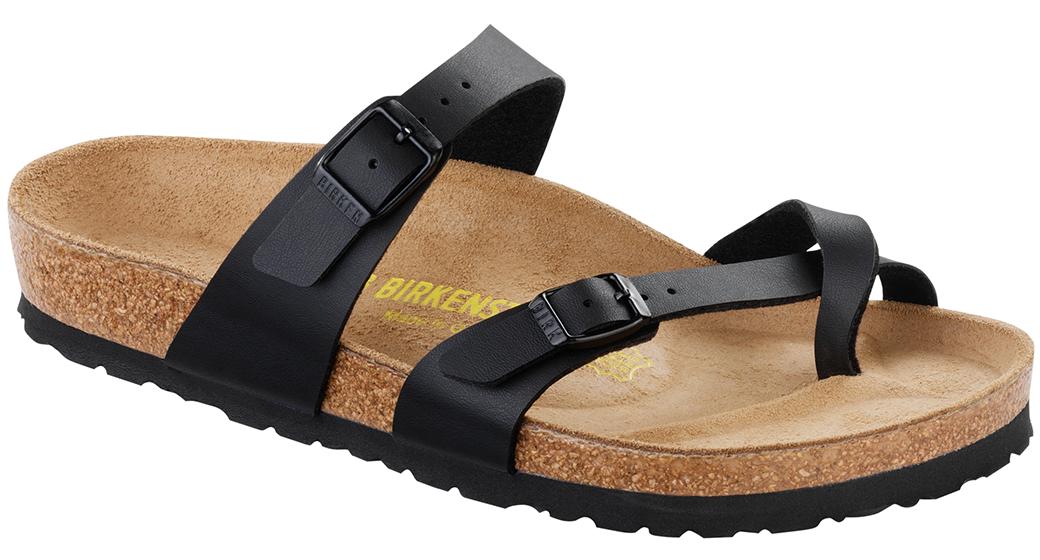 Birkenstock Mayari zwart voor normale voet