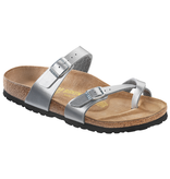 Birkenstock Birkenstock Mayari silver for normal feet