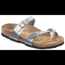 Birkenstock Mayari silver for normal feet