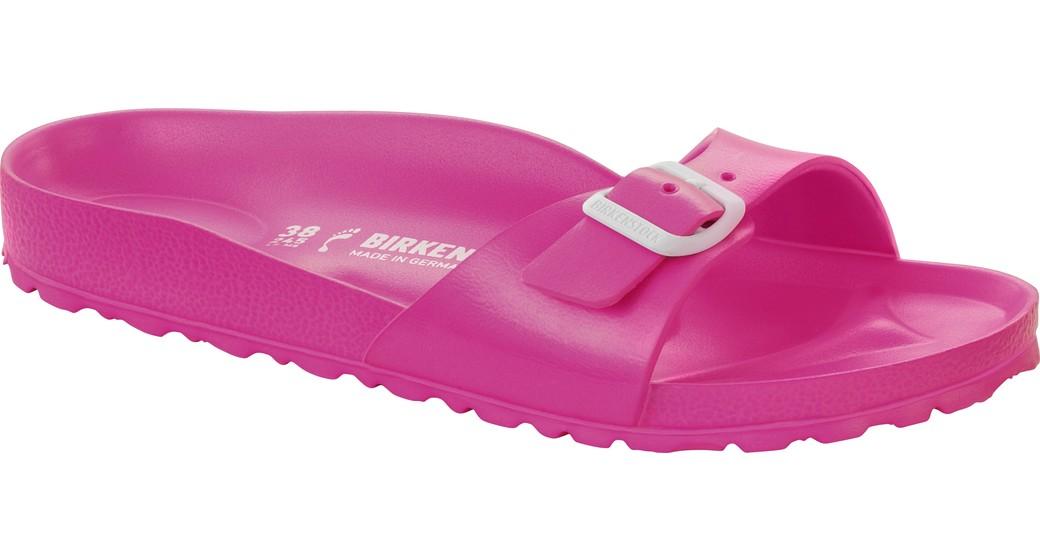 Birkenstock Madrid eva neon-pink for normal feet