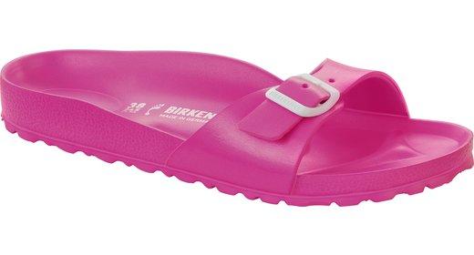 Birkenstock Birkenstock Madrid eva neon pink voor normale voet