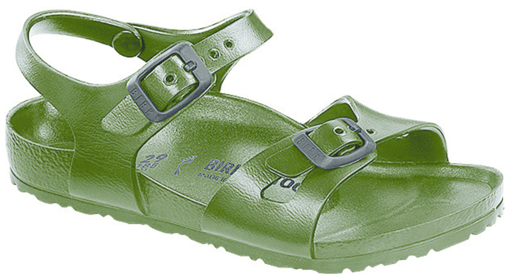 Birkenstock Rio kids eva khaki for normal feet