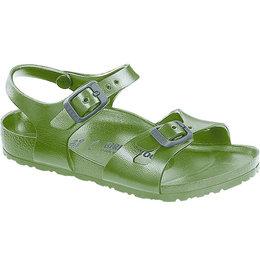 Birkenstock Rio kids eva khaki voor normale voet