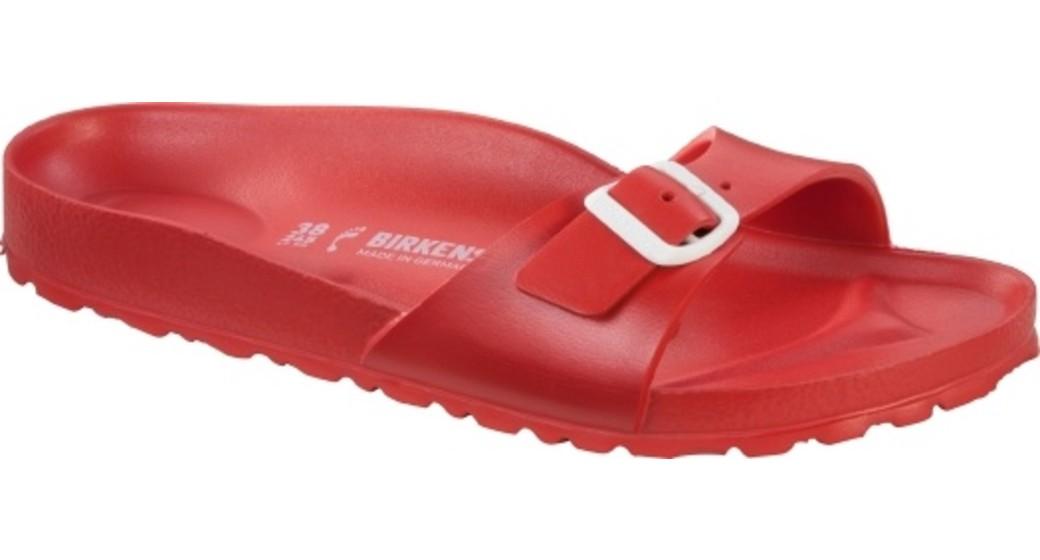 Birkenstock Madrid eva red for normal feet