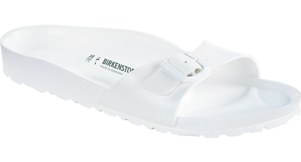 Birkenstock Madrid eva white for normal feet