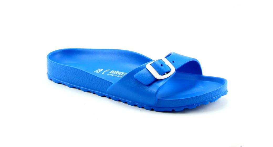 Birkenstock Madrid eva Scuba Blue for normal feet