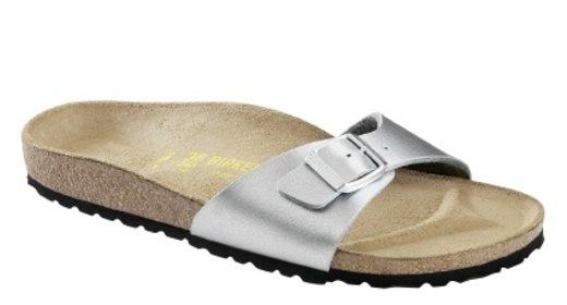 Birkenstock Birkenstock Madrid silver for normal feet
