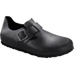 Birkenstock London zwart geolied leer voor normale voet