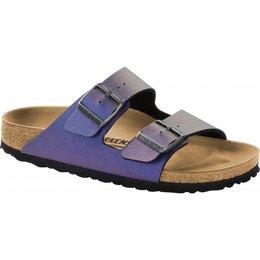 Birkenstock Arizona Icy Metallic Violet voor normale voet
