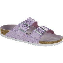 Birkenstock Arizona Metallic Stones Lilac for normal feet