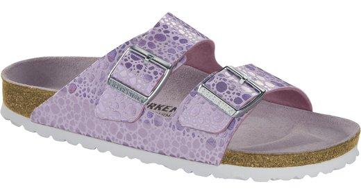 Birkenstock Birkenstock Arizona Metallic Stones Lilac for normal feet