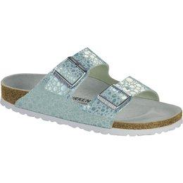 Birkenstock Arizona Metallic Stones Aqua voor normale voet