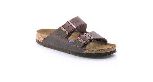 Birkenstock Birkenstock Arizona Habana olied leather soft footbed for normal feet