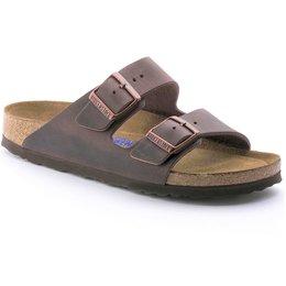 Birkenstock Arizona Habana olied leather soft footbed for wide feet