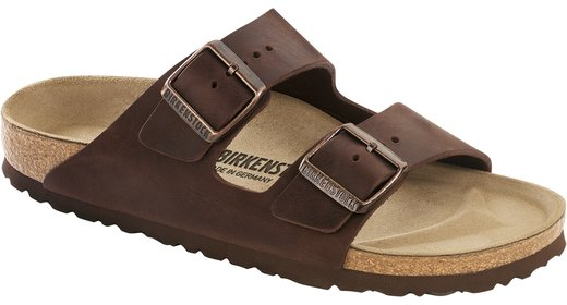 Birkenstock Birkenstock Arizona Habana olied leather for wide feet