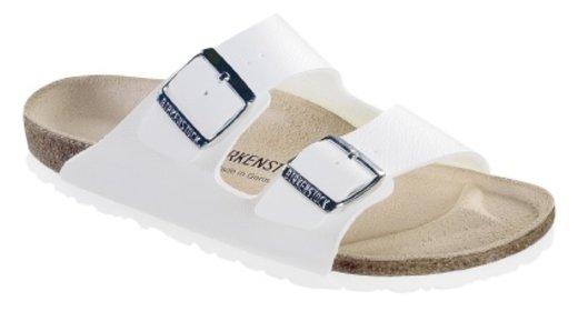 Birkenstock Birkenstock Arizona wit birkoflor  voor brede voet