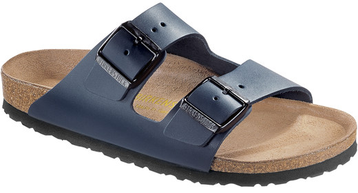 Birkenstock Birkenstock Arizona Blue leather for normal feet