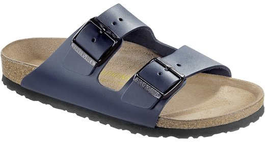 Birkenstock Birkenstock Arizona Blue leather for wide feet