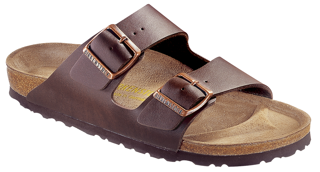 Birkenstock Arizona dark brown for normal feet