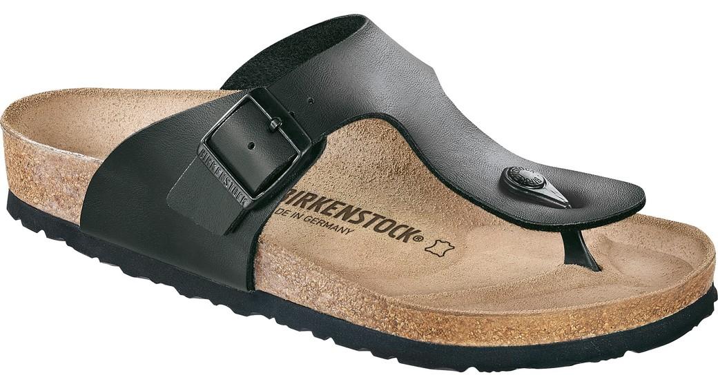 Birkenstock Ramses zwart voor smalle voet