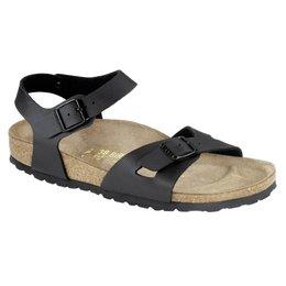 Birkenstock Rio black for normal feet