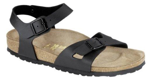 Birkenstock Birkenstock Rio black for normal feet