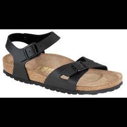 Birkenstock Rio black for wide feet