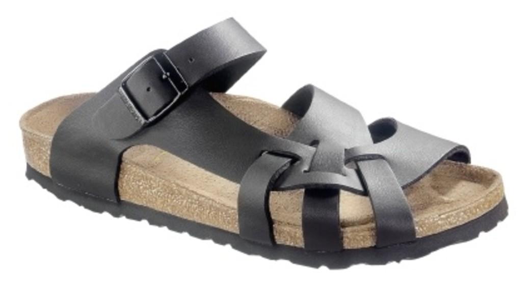 Birkenstock Pisa zwart voor normale voet