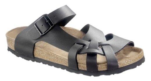 Birkenstock Birkenstock Pisa zwart voor normale voet