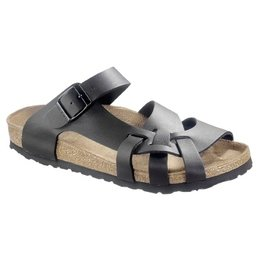 Birkenstock Pisa black for wide feet