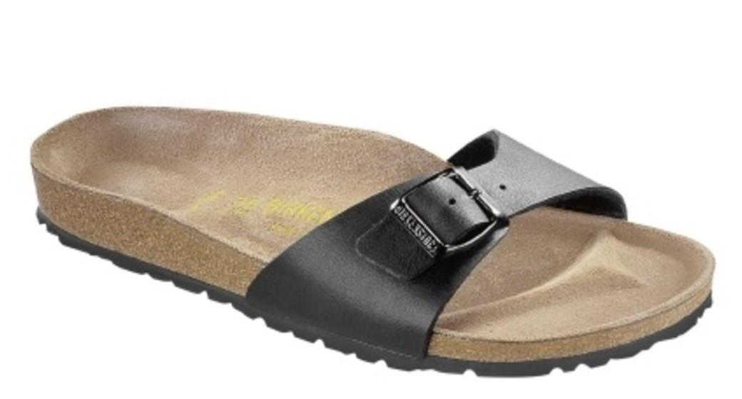 Birkenstock Madrid zwart voor normale voet