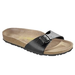 Birkenstock Madrid black for normal feet