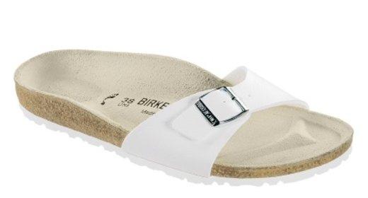 Birkenstock Birkenstock Madrid white for normal feet