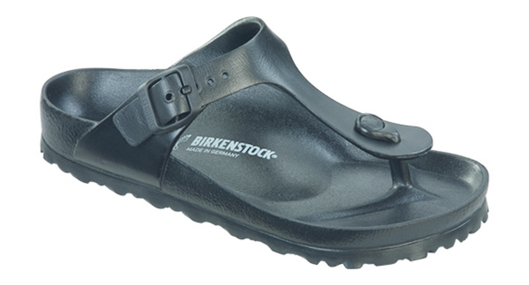 Birkenstock Gizeh kids eva black for normal feet