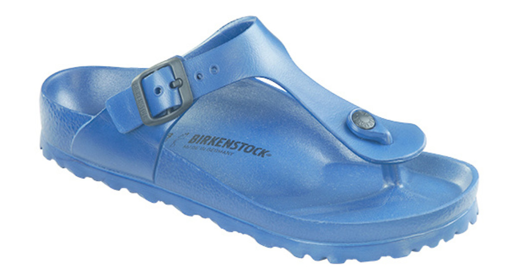 Birkenstock Gizeh kids eva navy for normal feet