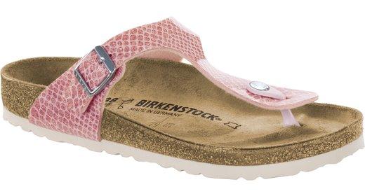 Birkenstock Birkenstock Gizeh magic snake pink for normal feet