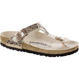 Birkenstock Gizeh metallic stones copper for normal feet