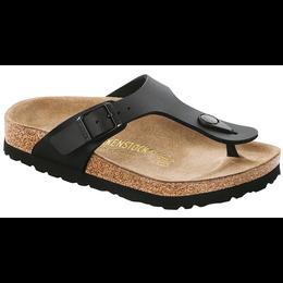 Birkenstock Gizeh kids zwart voor brede voet