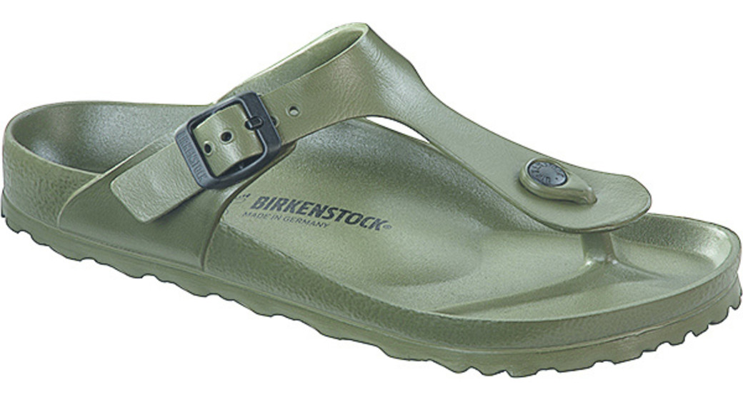 Birkenstock Gizeh eva khaki for normal feet